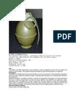 M26A1 Frag Grenade
