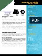 9104HD Specialty Alarms