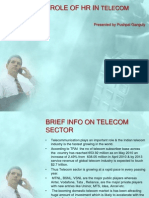 Strategic Role of Hr in Telecom Sector in India by Pushpal Ganguly (1)