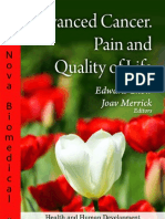 Advanced Cancer. Pain and Quality of Life
