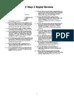 Usmle Step 2 Rapid Review Term List