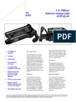 Insight Technology Incorporated an-PAQ-4C Infrared Aiming Light