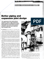 Better Piping and Expansion Joint Design