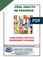 Natural Health Care Program