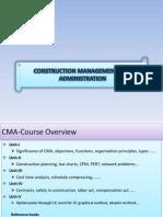 Construction Management Administration
