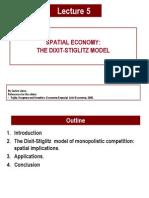 Economist Dixit Stiglitz Model