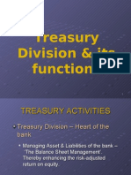 Muhammad Ali Bhojani Report on Treasury Division & its functions