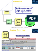 Processing Batch Input Sessions
