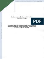 Geomancie Touaregue-Casajus