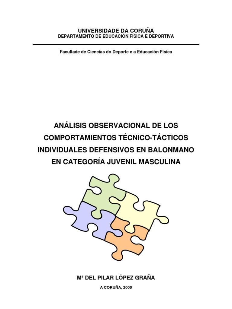 ANÁLISIS OBSERVACIONAL DE LOS COMPORTAMIENTOS TÉCNICO-TÁCTICOS ...