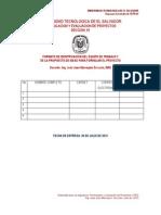 Formato Identificacion de Equipos de Trabajo y Del Proyecto
