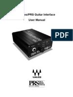 Gtr Interface Manual