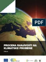 Procena Ranjivosti Na Klimatske Promene Srbija