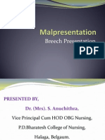 Malposition - Breech Presentation.pptx