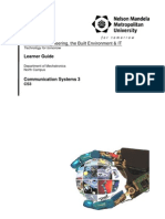 Communication Systems 3 Study Guide 2013