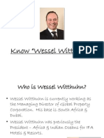 Know Wessel Witthuhn