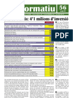 Full informatiu 56 / maig de 2009