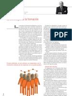 La estrategia de la formación. Juan Luis Garrigós.Economía3