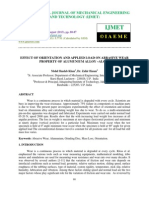 Effect of Orientation and Applied Load on Abrasive Wear Property of Alumun