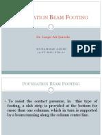 Foundation Beam Footing