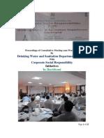 CSR Workshop Minutes