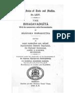 BhGThe Bhagavadgita with the Commentary called Sarvatrobhadra by rajanaka Ramakantha Ra