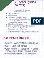 Spark Ignition Engine Ppt