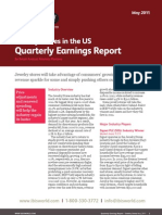 Jewelry - Quarterly Earnings Report