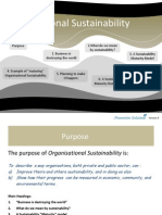 Organisational Sustainability V5