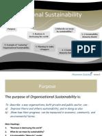 Organisational Sustainability V5