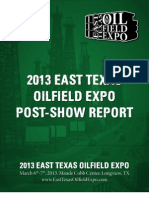 2013 ETOE Post Show Report