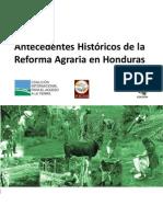 Antecedentes de La Reforma Agraria en Honduras