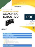 Programa Directivo para Coaching Ejecutivo. Activa tu mejor versión.