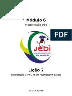 7 - Introdução a MVC e ao Framework Struts