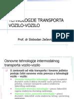 Tehnologije Transporta Vozilo-Vozilo