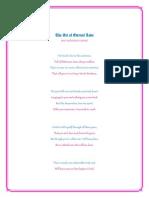 The Art of Eternal Love - Sonnet