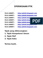 Bahan Peperiksaan PTK DG44