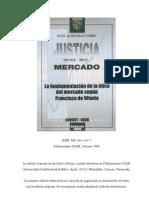 Justicia en el mercado - Francisco de Vitoria