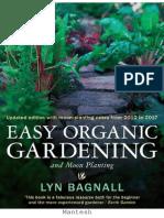 Easy Organic Gardening and Moon Planting