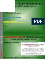 Multimodal Method in Sloshing Analysis Analytical Mechanics Concept
