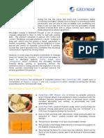 Application  bulletin n°177 - CarraLact DPC line