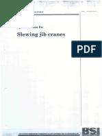 Slew Jib Crane Standards