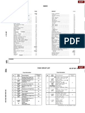 W201 Wiring Diagram   Automatic Transmission   Relay on