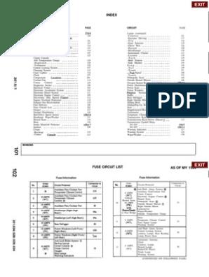 [QNCB_7524]  W201 Wiring Diagram | Automatic Transmission | Relay | Mercedes 190e 2 6 Engine Diagram |  | Scribd