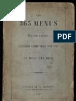 Les 365 Menud Du Baron Brisse