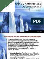 1. JURISDICCIÓN Y COMPETENCIA ADMINISTRATIVA