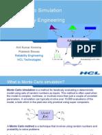 Monte-Carlo for Reliability
