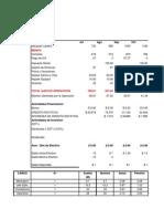 Formato presupuesto efectivo