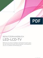 LG TV Anleitung