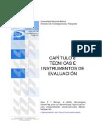 Tecnicas e Instrumentos de Eveluacion